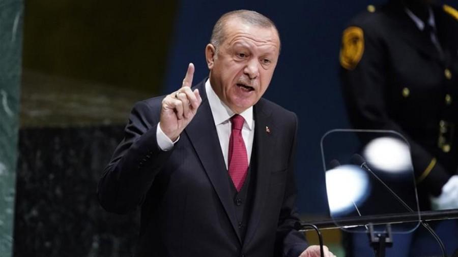 Erdogan: Θα δράσουμε αυτοβούλως για να διασφαλίσουμε τα δικαιώματα μας στην Ανατ. Μεσόγειο