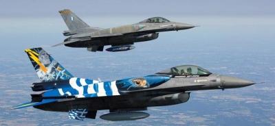 Πηγές ΓΕΕΘΑ: Διαψεύδουν τους τουρκικούς ισχυρισμούς περί παρενόχλησης του «Cesme» από ελληνικά F-16