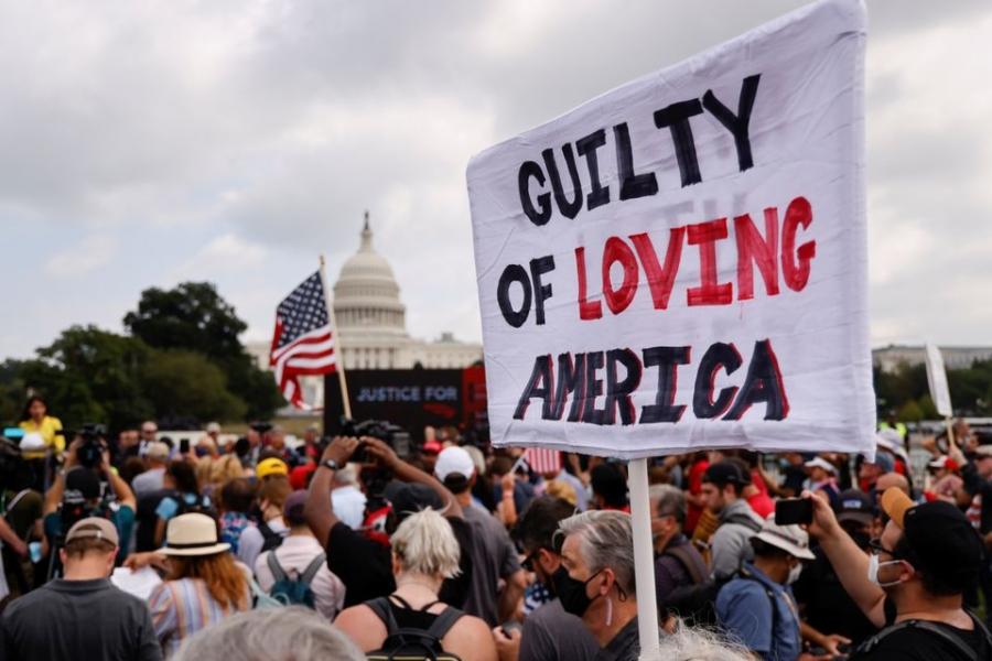HΠΑ: Μικρή συμμετοχή στη διαδήλωση των υποστηρικτών Trump για τα γεγονότα στο Καπιτώλιο