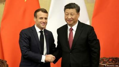 Συνομιλία Macron - Xi για γαλλο-κινεζικές σχέσεις, εμβόλια και την εξέλιξη του Παρισιού σε διεθνές οικονομικό κέντρο