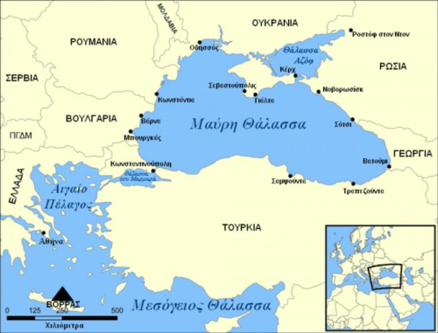 Με τα ελληνικά ονόματα Βόσπορος και Δαρδανέλλια στη Google... Έξαλλοι οι Τούρκοι!