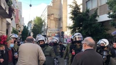 Επέτειος Γρηγορόπουλου:  Προσαγωγές δικηγόρων στα Εξάρχεια καταγγέλλει ο Δικηγορικός Σύλλογος Αθηνών