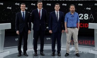 Ισπανία: Ξεχώρισε ο Sanchez στο β΄ debate - «Πόλεμος» Λαϊκού Κόμματος - Ciudadanos