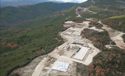 Τέρνα Ενεργειακή: Με ταχύτατους ρυθμούς προχωρά η κατασκευή του ΣΔΙΤ Επεξεργασίας Αστικών Στερεών Αποβλήτων Ηπείρου