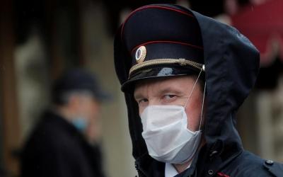 Ρωσία: Περίπου 25.800 κρούσματα και 883 θάνατοι τις τελευταίες 24 ώρες