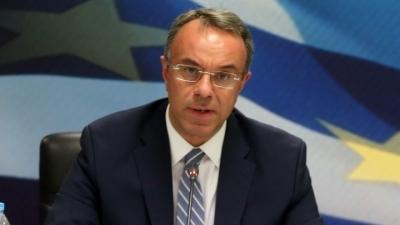 Σταϊκούρας (ΥΠΟΙΚ): Περισσότερα από 4 δισεκ. ευρώ θα στηρίξουν την επιχειρηματικότητα στο β' εξάμηνο 2021