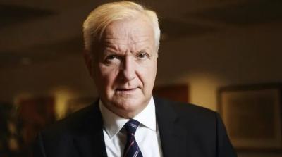 Olli Rehn: Η ΕΚΤ να αλλάξει τον στόχο για τον πληθωρισμό και να ακολουθήσει το παράδειγμα της Fed