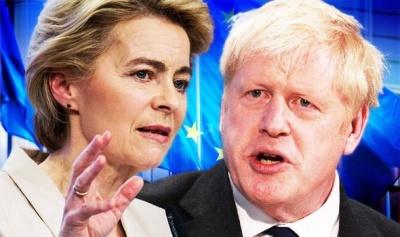 Κρίσιμη συνάντηση Johnson –  Von der Leyen για τη νέα εμπορική σχέση Βρετανίας – ΕΕ στις 8/1