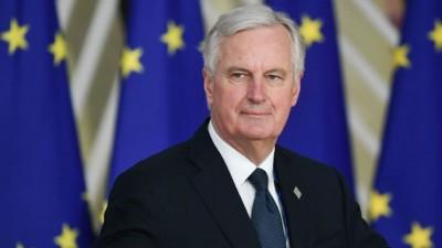 Barnier (ΕΕ): Οι διαπραγματεύσεις με το Ηνωμένο Βασίλειο για το Brexit έχουν «κολλήσει» σε τρία σημεία