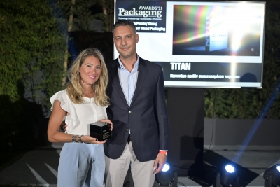 Χρυσά Βραβεία Innovation και Sustainability στα Packaging Awards 2021 για την ΤΙΤΑΝ