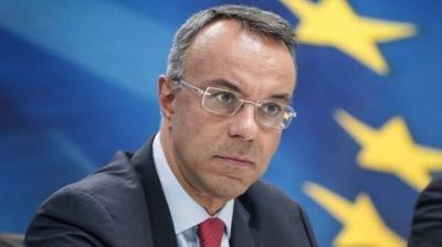 Σταϊκούρας: Ισχυρή ανάκαμψη της ελληνικής οικονομίας το 2021 - Στηρίξαμε επιχειρήσεις και νοικοκυριά
