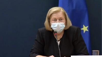 Θεοδωρίδου: Όταν εμβολιαστούμε το πρόβλημα δεν θα έχει τελειώσει - Συνεχίζουμε να φοράμε μάσκες και να τηρούμε αποστάσεις