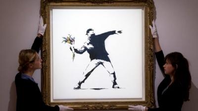 Sotheby's: Δημοπρασία διάσημου έργου του Banksy με δυνατότητα πληρωμής σε bitcoin και ethereum