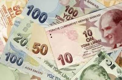 Σημαντική υποχώρηση για την τουρκική λίρα - Στο 13% οι απώλειες από τις αρχές του 2018