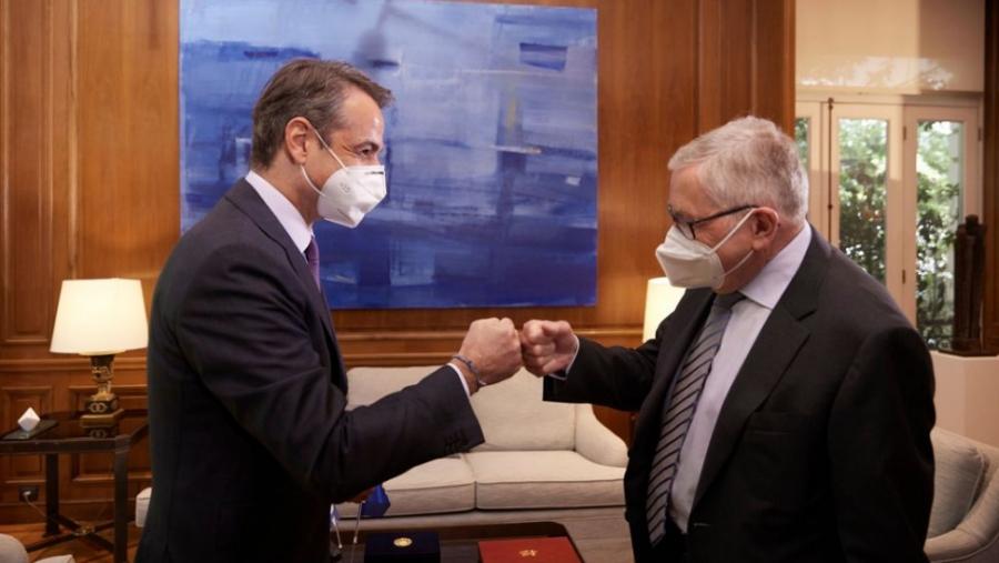 Regling: Καλό το ελληνικό σχέδιο ανάκαμψης, αλλά το κλειδί είναι η υλοποίηση - Μητσοτάκης: Ικανοποίηση για την ΑΜΚ της Πειραιώς