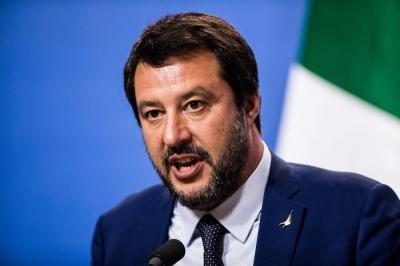 Ο Salvini ζητεί από τους Ιταλούς να αντιδράσουν στη βραδινή απαγόρευση κυκλοφορίας