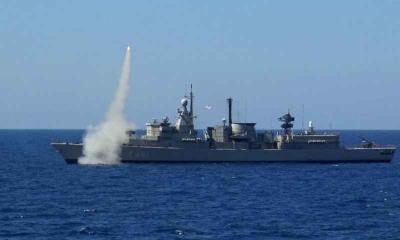 «ΛΟΓΧΗ» του Πολεμικού Ναυτικού δυτικά της Κρήτης