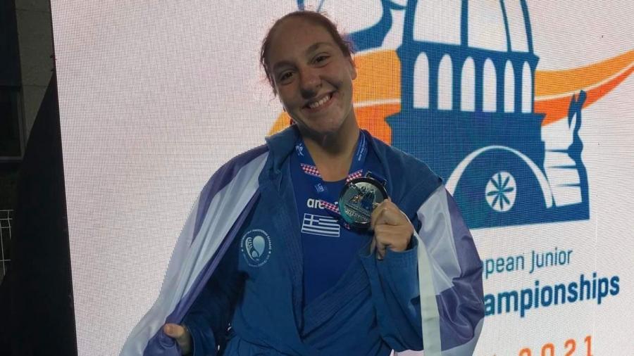 Η Ντένια Κουρέτα στο BN Sports: «Δεν είναι το ασημένιο μετάλλιο το ταβάνι μας, θα φτάσουμε την Ελλάδα στην κορυφή!»