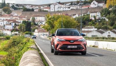 Με το ανανεωμένο Toyota C-HR στην Πορτογαλία