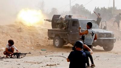 Συνομιλίες ΗΠΑ - Λιβυκού Εθνικού Στρατού για τον αφοπλισμό των πολιτοφυλακών