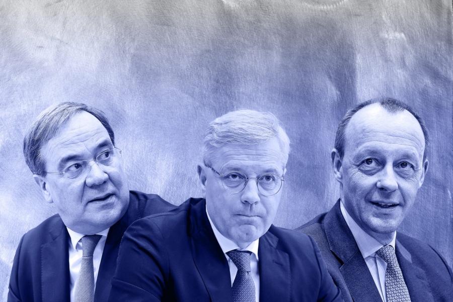 Οι τρεις υποψήφιοι για την ηγεσία του CDU, προηγείται ο Merz – Κρίσιμη ψηφοφορία 16/1 στην Γερμανία