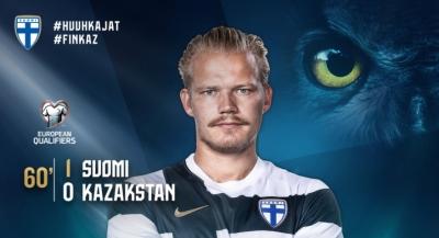 Φινλανδία – Καζακστάν 1-0: Ο Πογιανπάλο ανοίγει το σκορ!