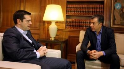 Τσίπρας για Σαββίδη: Θα αγνοήσουμε το πολιτικό κόστος - Θεοδωράκης: Να κόψουμε κεφάλια