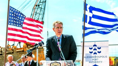 Pyatt (πρέσβης ΗΠΑ): Το Καστελόριζο έχει ίδια υφαλοκρηπίδα και δικαιώματα ΑΟΖ όπως κάθε ηπειρωτική περιοχή