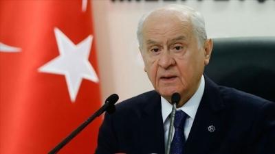 Bahceli: Ο Biden προκαλέσε ανεπανόρθωτη ζημιά στο πνεύμα της συμμαχίας