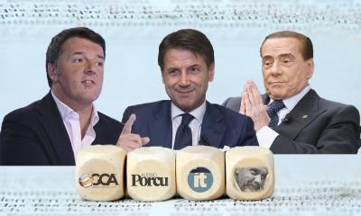 Σε «κυνήγι» γερουσιαστών ο Conte - Στόχος η εξασφάλιση πλειοψηφίας - Άνοιγμα σε Renzi και Berlusconi