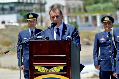 Παναγιωτόπουλος: Πανταχού παρούσες οι Ένοπλες Δυνάμεις εξασφαλίζουν τα σύνορα της χώρας