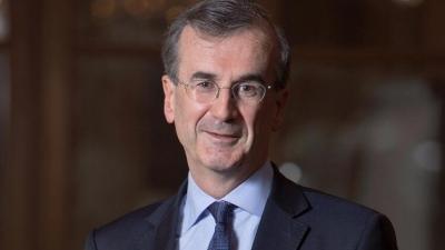 Villeroy (ΕΚΤ): Τουλάχιστον στο 5,5% η ανάπτυξη στη Γαλλία το 2021