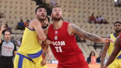 Μονακό – Περιστέρι 90-78: Άντζουσιτς και Ντιαλό έκαναν τη ζημιά