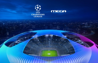 Champions League και MEGA ξανά μαζί μετά από εννέα χρόνια!