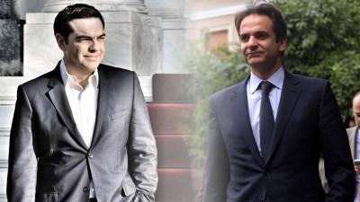 Η μείωση φόρων και η μείωση συντάξεων θα κρίνουν την διαφορά ΝΔ με ΣΥΡΙΖΑ στις επόμενες εκλογές