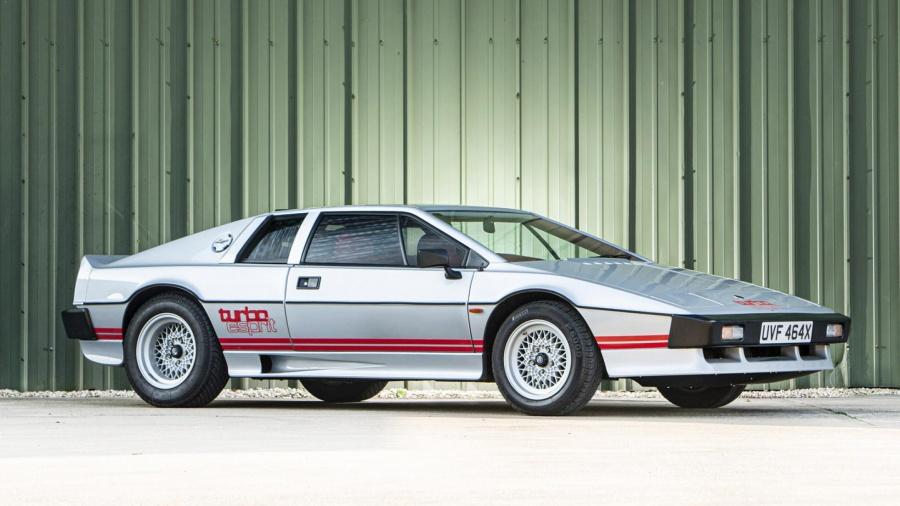 Αυτή την turbo Lotus Esprit την είχε ο Colin Chapman