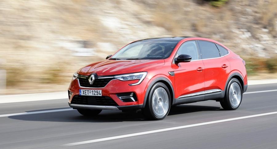 Με το νέο Renault Arkana στο Λουτράκι!