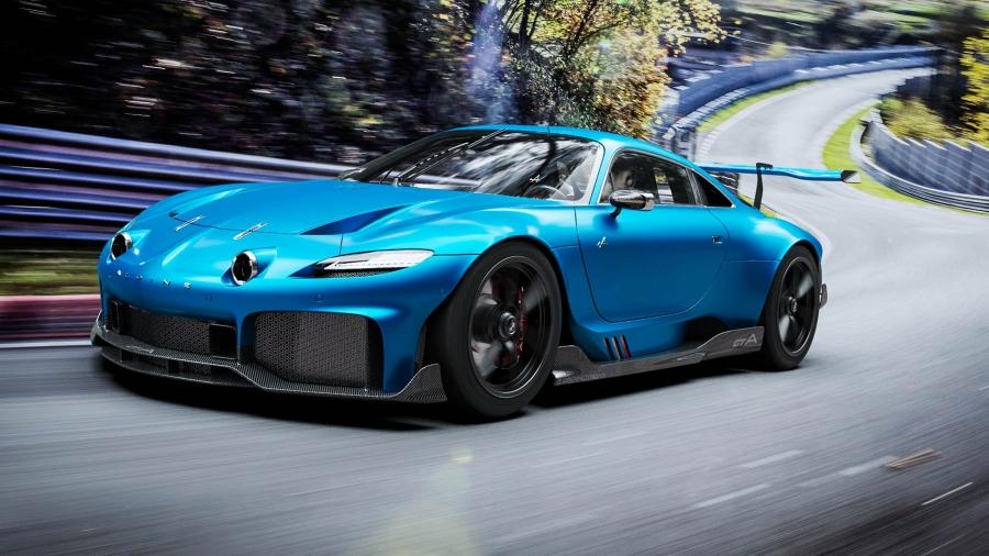 Κόβει την ανάσα αυτή η σούπερ Alpine GTA!