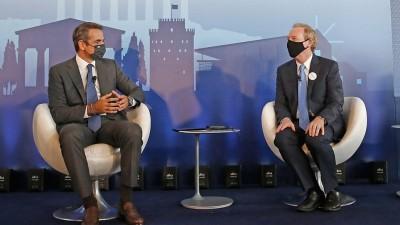 Ψήφος εμπιστοσύνης η μεγάλη επένδυση της Microsoft, ύψους 1 δισ. ευρώ -  Μητσοτάκης: Παγκόσμιος ψηφιακός κόμβος η Ελλάδα, 100 χιλ. θέσεις εργασίας