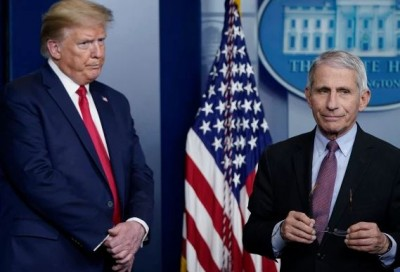 Trump: Fake news ο αριθμός των νεκρών από Covid στις ΗΠΑ – Τι απαντά ο Fauci