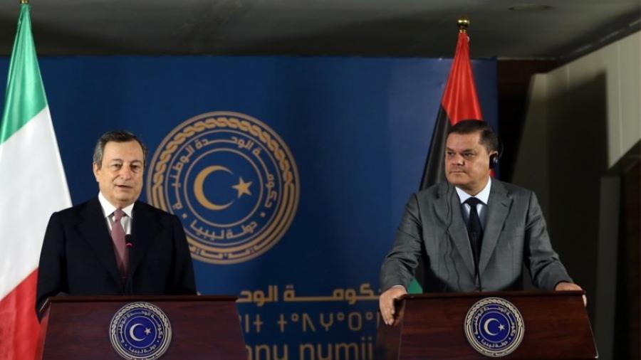 Draghi στη Λιβύη: Στιγμή μοναδικής αξίας, για να επανοικοδομήσουμε την παλιά μας φιλία