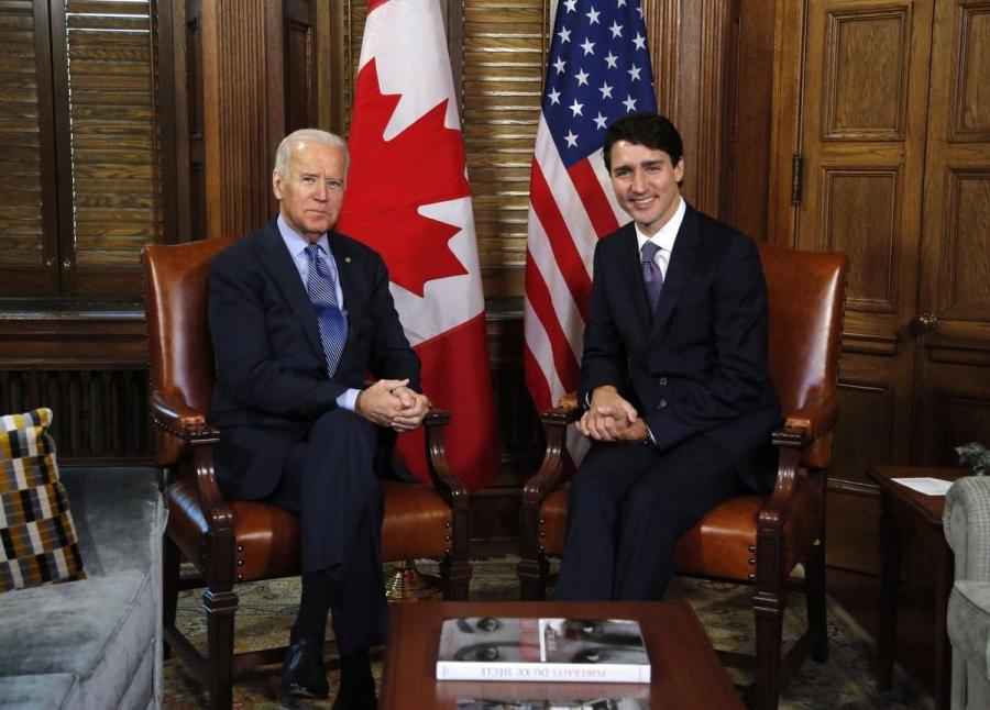 Στον Καναδό πρωθυπουργό το πρώτο τηλεφώνημα Biden σε ξένο ηγέτη