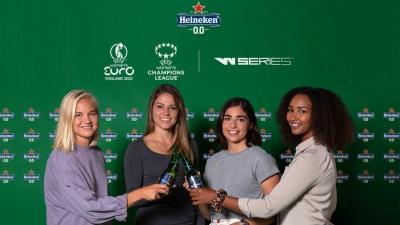 Heineken: Επενδύει στον γυναικείο αθλητισμό με χορηγίες σε 3 διοργανώσεις