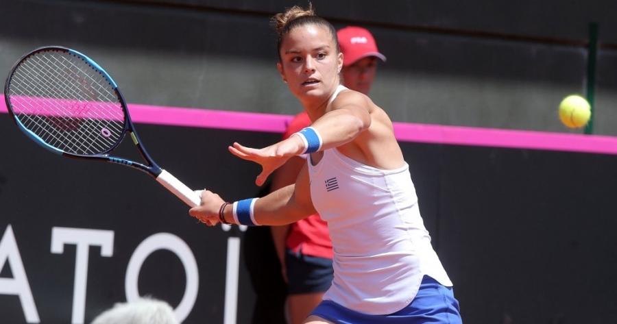 Τένις: Εκπληκτική πρεμιέρα για Σάκκαρη! (video)