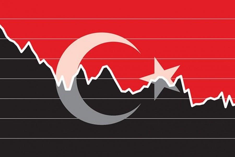 Χωρίς φρένο η πτώση της τουρκικής λίρας, που υποφέρει από τα Erdoganomics