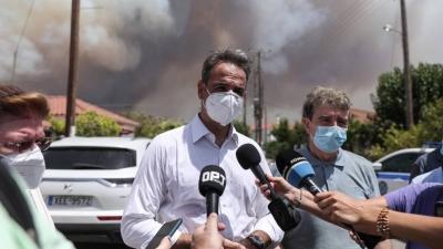 Μετά τη βιβλική καταστροφή, ο Μητσοτάκης ανακοινώνει (9/8) μέτρα για πυρόπληκτους - Συνεδρίαση υπουργικού συμβουλίου 10/8