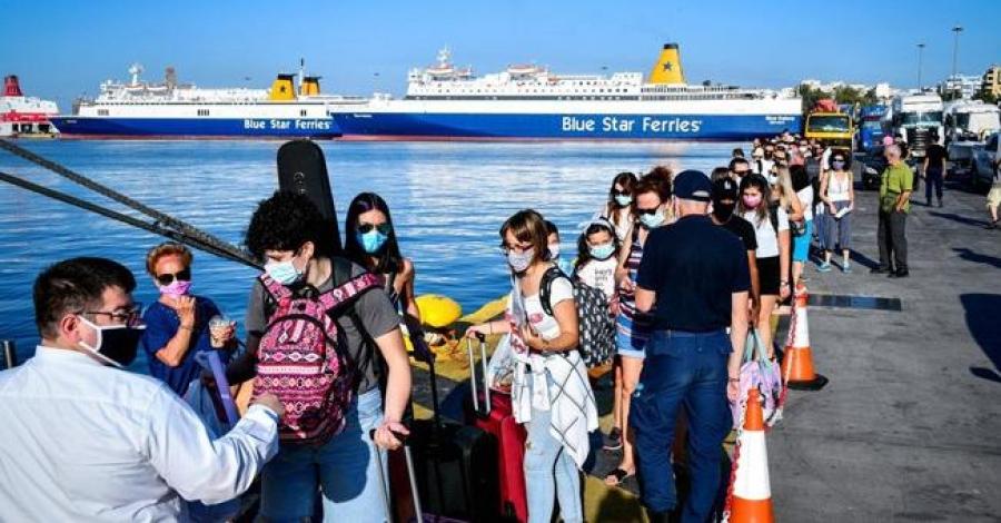Έφαγαν...πόρτα: Περίπου 4.500 ταξιδιώτες δεν ανέβηκαν στο πλοίο την περασμένη εβδομάδα