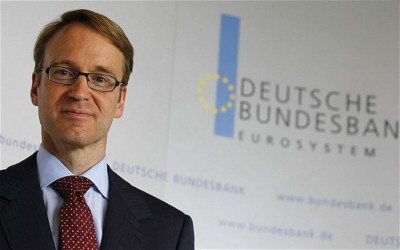 Weidmann (Bundesbank): Καθησυχάζει για την υπερτίμηση του ευρώ - Τάσσεται ενάντια σε νέα μέτρα τόνωσης από ΕΚΤ