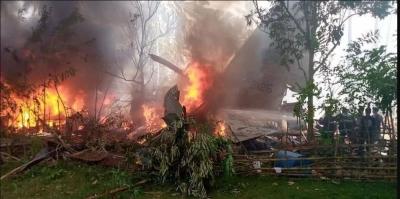 Συνετρίβη στρατιωτικό αεροσκάφος στις Φιλιππίνες, με 85 επιβαίνοντες - 40 διασωθέντες