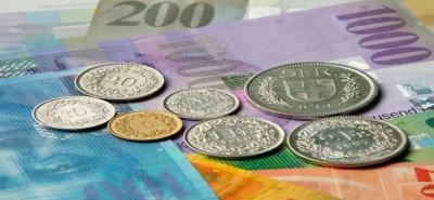 Κοντά στο προηγούμενο πλαφόν των 1,2  φράγκων/ ευρώ η ισοτιμία του ελβετικού νομίσματος
